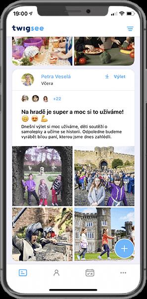 Twigsee - Aplikace pro školku