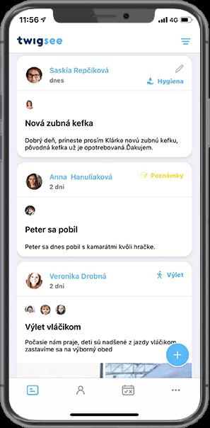 Twigsee - Online nástenka pre MŠ