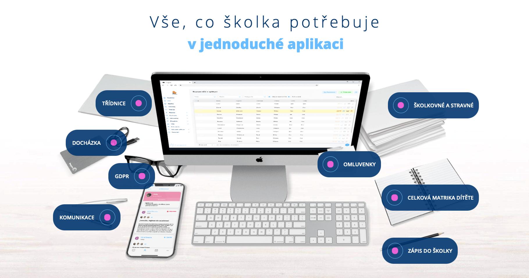 Twigsee - Aplikace pro mateřské školy